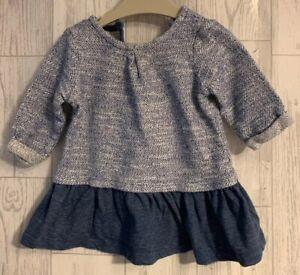 Girls Age 0-3 Months - Next Long Sleeved Dress