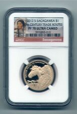 2012 S sacagawea PF 70 Ultra cameo no spots no toning beautiful coins red label