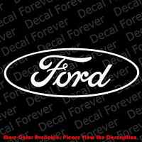 LARGE - FORD LOGO Die Cut Car Window/Laptop/Phone Vinyl Decal Sticker FD006