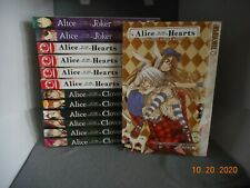 Alice in the Country Of Hearts, Clover and Joker - Lot of 13 Books