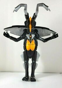 """Powered Zetton Bandai 1994 LARGE 13"""" Kaiju Sound Battler Ultraman Monster (READ"""