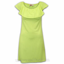 Vestiti da donna Stretch Casual Verde