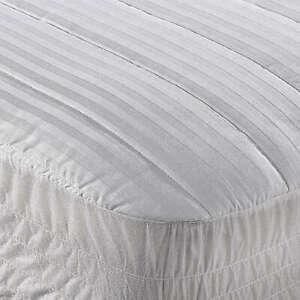 Wamsutta Mattress Pad Twin Size Bed Dobby Stripe $30 MSRP