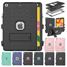 Shockproof Armor Stand Rubber Pencil Holder Case Cover For iPad 7th Gen 10.2""