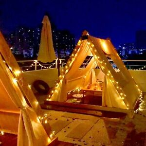 Large Teepee Tent for Adult&Kids Wedding Party Decor Indoor Outdoor  Play House