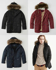 NWT Abercrombie&Fitch Men's Vintage-Inspired Expedition Parka Heritage Jacket