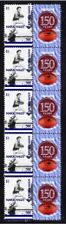 SOUTH ADELAIDE FC 150th of FOOTBALL STRIP OF 10 VIGNETTE STAMPS