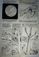 Superman #358 Page 11 - Supes in Action by CURT SWAN & FRANK CHIARAMONTE (1981)