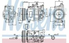 NISSENS Compresseur de climatisation 12V pour AUDI A6 Q5 A4 89415 - Mister Auto