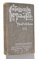 Catalogue de Timbres-Poste YVERT & TELLIER 1913
