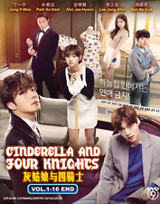 Korean Drama Cinderella and Four Knights Complete DVD Series - BRAND NEW