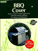 BBQ COVER GARDEN BARBEQUE GRILL STORAGE WATERPROOF PROTECTION UV RESISTANT NEW