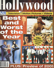 DREW BARRYMORE MEL GIBSON Hollywood AMI Specials Magazine 1/01 BEST & WORST