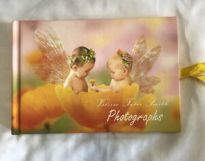 Photographs Album by Valerie Tabor Smith 12 Pages Baby Hardback Fairies Angels
