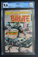 BRUTE 1 ORIGIN 1st Atlas/Seaboard 1975 Fleisher Sekowsky Marcos TV Movie CGC 9.6