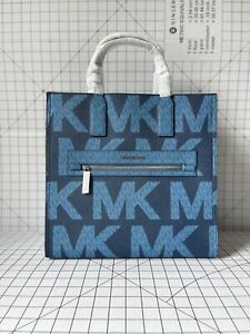 Michael Kors Kenly Large North South Signature Tote MK Crossbody Handbag