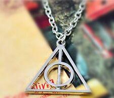 MAGISCHES DREIECK Halskette Heiligtümer des Todes Harry Potter
