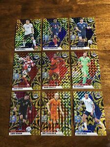 ⚽️2021 Mosaic UEFA Euro 2020 Soccer RARE Mega GOLD Fluorescent Lot Hamsik Card