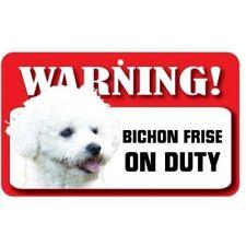 Bichon Frise Dog Pet Sign, Fun Signs, Housewarming Gifts, Home Decor DS008
