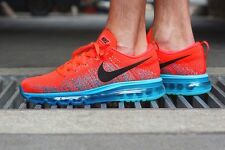 Nike flyknit max CRIMSON RED nEW 11 us /45 eur  new full box  NO PAYPAL