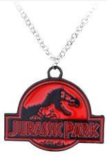 Jurassic Park Logo Pendant Necklace