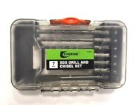 SDS Drill & Chisel Set 7 Pcs. EVERISE CF4213  FREE SHIPPING