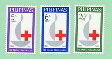 Philippines 3 stamps, SC 886 - 888, Centenary of the Intl Red Cross, 196, MPH