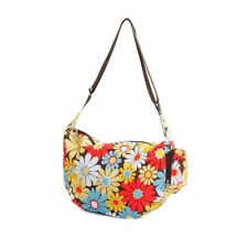 Casual Foldable Slouch Bag The Very Lovely Bag Co., Retro Daisy
