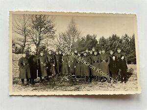 orig. Foto AK Soldaten um 1944 Wehrmacht Landsberg Warthe Lebus Ost Brandenburg