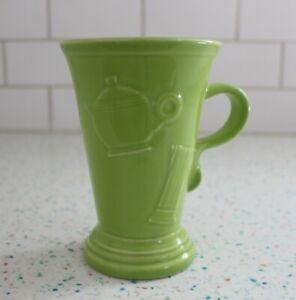Fiestaware Chartreuse Pedestal Mug NEW