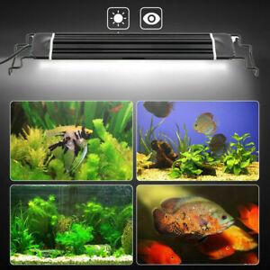 LED Aquarium Spectre complet Lumière Fiche Lampe Éclairage Pour Plante Poisson