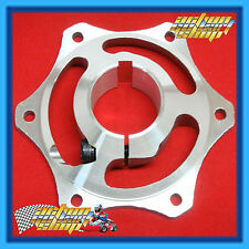 GO KART 40MM BRAKE DISC CARRIER HUB FOR 40MM AXLE with 8MM KEY FREE DELIVERY