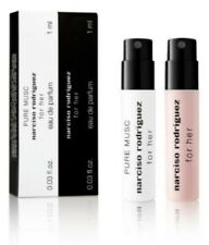 NARCISO RODRIGUEZ FOR HER EAU DE PARFUM  + PURE MUSC SAMPLE VIAL KIT DUO .03OZ