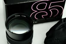 near mint Carl Zeiss PLANAR 85mm f1,4 - boxed Contax Yashica lens