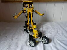 LEGO ® technic set 8852  robot TRANSFORMABLE VOITURE 1987 complet 2 notices