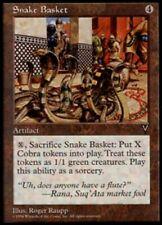 Snake Basket Magic mtg Moderate Play, English Visions x1
