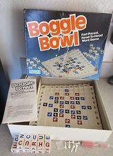 Vintage 1987 BOGGLE BOWL WORD GAME BY PARKER BROTHERS Complete