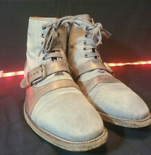 John Varvatos Mens (Size 9.5) Fleetwood Buckle Cricket Boots |Made in Italy