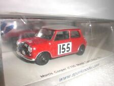 Spark 1190 - Morris Cooper Monte Carlo Rallye 1963 #155 - 1:43 Made in China