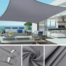 More details for outdoor shade sail patio suncreen awning 420d garden sun canopy 98% uv block new