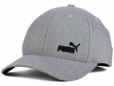 wholesale dealer 93c4d fb8d6 Puma Fame Cat Logo Gray Stretch Fit Baseball Style Cap Hat L XL