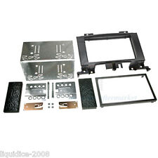 CT23MB13 MERCEDES BENZ SPRINTER W906 2006 ONWARDS BLACK DOUBLE DIN FASCIA PANEL