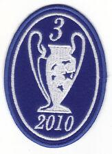 [Patch] CHAMPIONS LEAGUE 3 anno 2010  FC  INTER TRIPLETE toppa ricamata -118