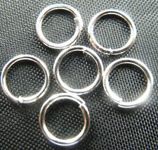 Wholesale Free Ship 5000pcs silver plated jump ring 6mm