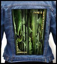 TYPE O NEGATIVE - October Rust #2  --- Huge Jacket Back Patch