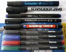 #10xedding Ohp-marker schwarz W-fest Superfein 140s1