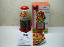 Jelly Belly MINI BEAN MACHINE Collectible Die-Cast Dispenser with Glass Dome NIB