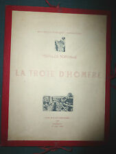 CHARLES NORMAND LA TROIE D' HOMERE ARCHEOLOGIE GRECE TROYA RARE 1892 N° SIGNE