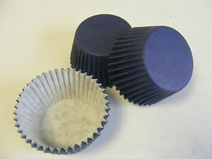 48 x high quality NAVY BLUE Muffin / Cup Cake cases