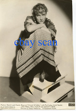 "MARLENE DIETRICH Vintage Original Photo 1936 ""I LOVED A SOLDIER"" LOST HOLLYWOOD"